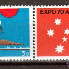Sellos: AUSTRALIA 1970. SERIE. EXPO OSAKA. **.MNH. Lote 51728205