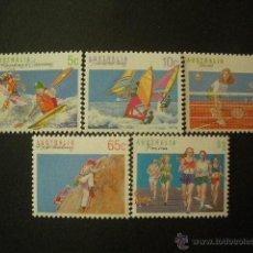 Sellos: AUSTRALIA 1990 IVERT 1140/4 *** SERIE BÁSICA - DEPORTES (III). Lote 52939307