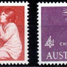 Briefmarken - AUSTRALIA 1957 SERIE NAVIDAD NUEVO LUJO MNH *** SC - 53197654