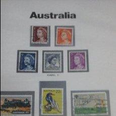 Sellos: LOTE SELLOS ORIGINALES AUSTRALIA . Lote 53547056