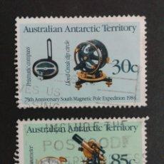 Sellos: SELLOS DE TERRITORIO ANTÁRTICO AUSTRALIANO (AUSTRALIA). YVERT 61/2 SERIE COMPLETA USADA.. Lote 54019747