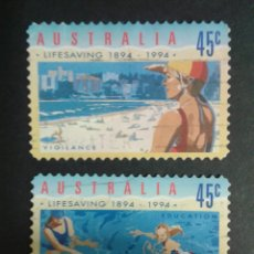 Sellos: SELLOS DE AUSTRALIA. YVERT 1347/8. SERIE COMPLETA USADA. . Lote 54188598