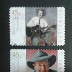 Sellos: SELLOS DE AUSTRALIA. YVERT 1913/4. SERIE COMPLETA USADA. . Lote 54188615