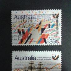 SELLOS DE AUSTRALIA. YVERT 934/5. SERIE COMPLETA USADA.
