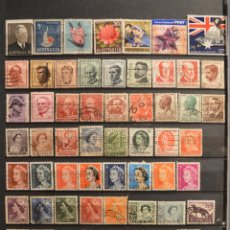 Sellos: LOTE 560 SELLOS AUSTRALIA TODOS DISTINTOS SELLO USADO VER TODOS EN FOTOGRAFIAS. Lote 54832597
