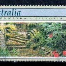Sellos: AUSTRALIA.1989. 2 SERIES: JARDINES Y JARDIN BOTANICO ADELAIDA. *.MH. Lote 57206081