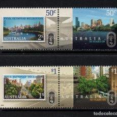 Sellos: AUSTRALIA 2624/27** - AÑO 2006 - 50º ANIVERSARIO DE LOS JUEGOS OLÍMPICOS DE MELBOURNE 1956. Lote 72833879