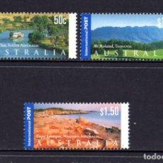 Sellos: AUSTRALIA 2028/30** - AÑO 2002 - PAISAJES. Lote 73069751