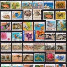 Sellos: AUSTRALIA. LOTE 48 SELLOS DIFERENTES .*MH (17-67 ). Lote 73857995