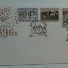 Sellos: AUSTRALIA SOBRE PRIMER DÍA 1991 LITERARY LEGENDS. Lote 74609478