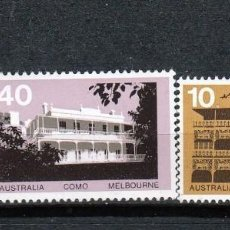 Sellos: AUSTRALIA.1973. SERIE: ARQUITECTURA **.MNH. Lote 86341968