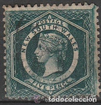 NEW SOUTH WALES. 1860 . S/FILIG. D:12 . *MH (Sellos - Extranjero - Oceanía - Australia)