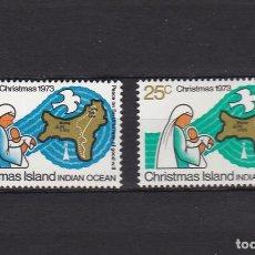 Sellos: ISLA NAVIDAD - OCEANIA - GRAN BRETAÑA POSESIONES AÑO 1973 COMPLETO NUEVOS (MH) LOTE 45-D. Lote 98248315