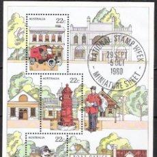 Sellos - AUSTRALIA 1980 - HOJITA - 100062995