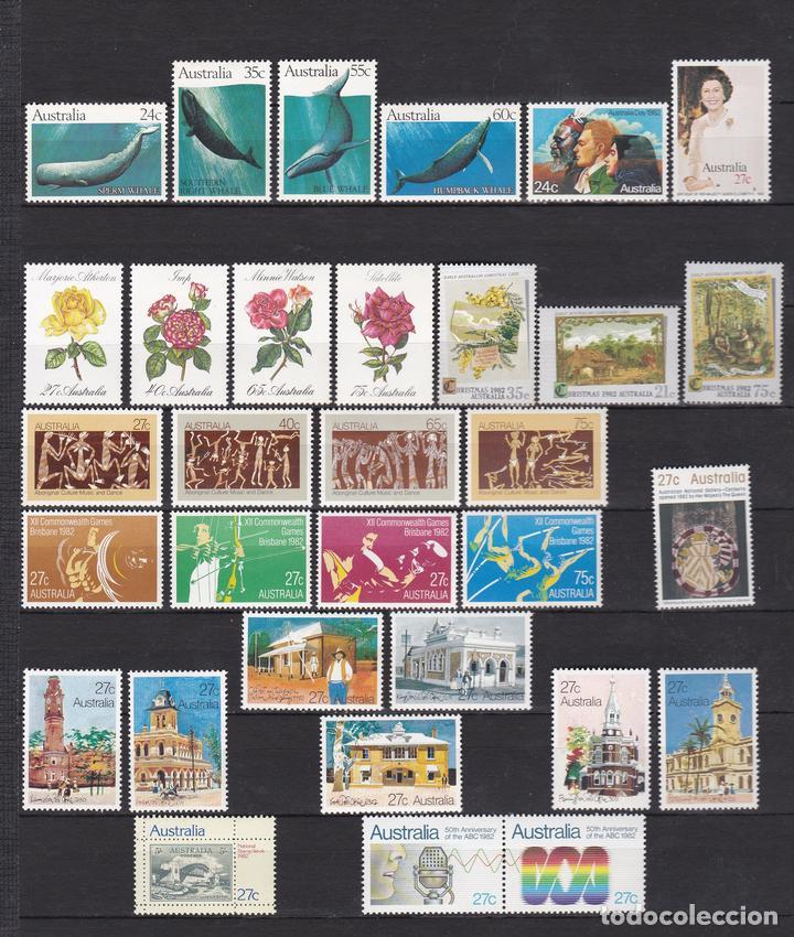 AUSTRALIA AÑO 1982 NUEVOS * (MH) LOTE 73 (Sellos - Extranjero - Oceanía - Australia)