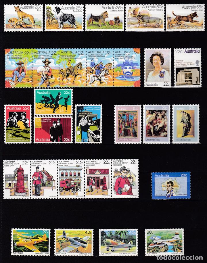 AUSTRALIA AÑO 1980 NUEVOS * (MH) LOTE 75 (Sellos - Extranjero - Oceanía - Australia)
