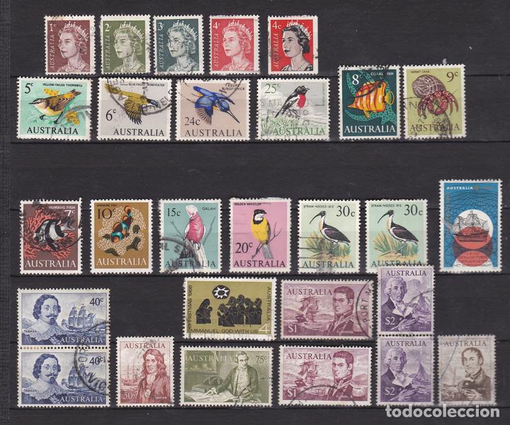 AUSTRALIA AÑOS 1966 USADOS * (MH) LOTE 76 (Sellos - Extranjero - Oceanía - Australia)