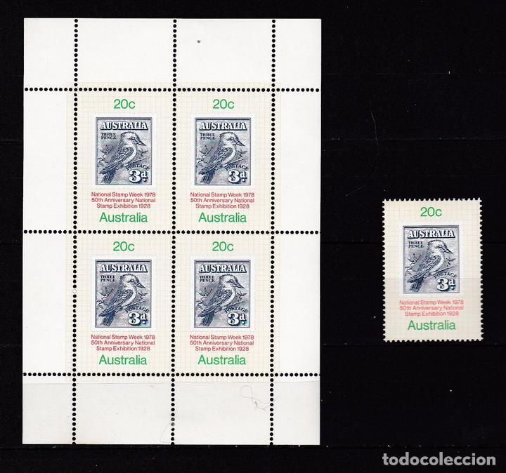 AUSTRALIA AÑO 1978 SELLOS NUEVOS * (MH) LOTE 78 A (Sellos - Extranjero - Oceanía - Australia)