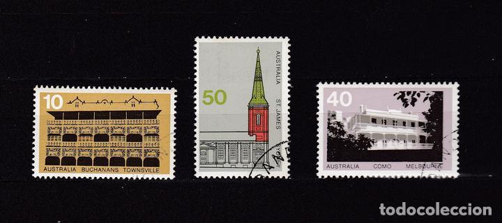 AUSTRALIA AÑO 1973 SELLOS NUEVOS * (MH) LOTE 83 I (MATASELLOS DE FAVOR) (Sellos - Extranjero - Oceanía - Australia)