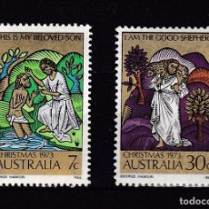 Sellos - AUSTRALIA AÑO 1973 SELLOS NUEVOS * (MH) LOTE 83 C - 103876991