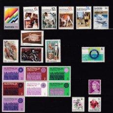 Sellos: AUSTRALIA AÑO 1971 SELLOS NUEVOS * (MH) LOTE 85. Lote 103886747