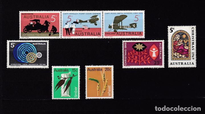 AUSTRALIA AÑO 1969 SELLOS NUEVOS * (MH) LOTE 87 (Sellos - Extranjero - Oceanía - Australia)