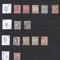 Sellos: AUSTRALIA AÑOS 1913 - 1931 SELLOS USADOS * (MH) LOTE 6. Lote 103976107