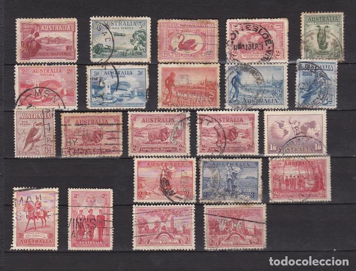 AUSTRALIA AÑOS 1924 - 1936 SELLOS USADOS * (MH) LOTE 17 (Sellos - Extranjero - Oceanía - Australia)