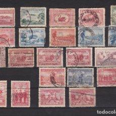 Sellos: AUSTRALIA AÑOS 1924 - 1936 SELLOS USADOS * (MH) LOTE 17. Lote 103987967