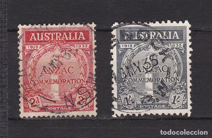 AUSTRALIA AÑO 1935 SELLOS USADOS * (MH) LOTE 16 B (Sellos - Extranjero - Oceanía - Australia)