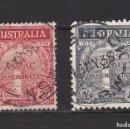 Sellos: AUSTRALIA AÑO 1935 SELLOS USADOS * (MH) LOTE 16 B. Lote 103988119