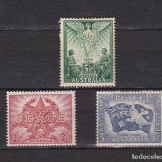 Sellos: AUSTRALIA AÑO DE 1946 SELLOS NUEVOS * (MH) LOTE 88. Lote 103994379