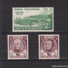 Sellos: AUSTRALIA AÑO DE 1953 SELLOS NUEVOS * (MH) LOTE 89 B. Lote 103995887