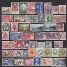 Sellos: AUSTRALIA AÑO DE 1951 A 1960 SELLOS USADOS * (MH) LOTE 19. Lote 103996019