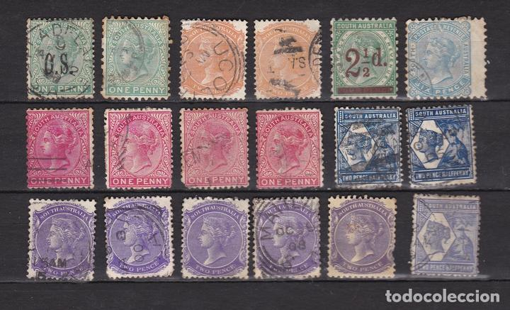 AUSTRALIA DEL SUR 1855 -1906 USADOS (MH) LOTE 91 A (Sellos - Extranjero - Oceanía - Australia)