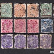 Sellos: AUSTRALIA DEL SUR 1855 -1906 USADOS (MH) LOTE 91 A. Lote 104102095
