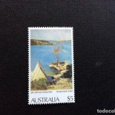 Sellos: AUSTRALIA Nº YVERT 654*** AÑO 1979. PINTURA. ARTHUR STREETON. Lote 105058023