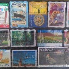 Sellos: AUSTRALIA LOTE DE 13 SELLOS.. Lote 109438951