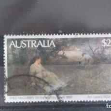 Sellos: AUSTRALIA. PINTURA DE FRED MCCUBBIN. 739. Lote 109439527