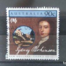 Sellos: AUSTRALIA. PERSONAJES. SYDNEY PARKINSON . Lote 109439691