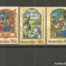 Sellos: AUSTRALIA SELLOS YVERT NUM. 1135/1137 SERIE COMPLETA USADA NAVIDAD. Lote 115299223