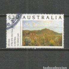 Sellos: AUSTRALIA SELLOS YVERT NUM. 1175 SERIE COMPLETA USADA JARDINES NATURALEZA. Lote 115299391