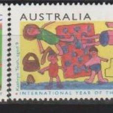 Sellos: LOTE U SELLOS AUSTRALIA NUEVOS AÑO DE LA FAMILIA SERIE COMPLETA 1994. Lote 127931039