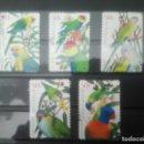 Sellos: AUSTRALIA 2004, PÁJAROS EXOTICOS. Lote 133212426