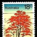 Sellos: AUSTRALIA YV 0631 ARBOLES AUSTRALIANOS: BRACHYCHITON ACERIFOLIUS (USADO). Lote 160860188