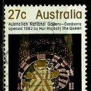 Sellos: AUSTRALIA YV 0794 GALERIA NACIONAL AUSTRALIANA (USADO). Lote 161012670