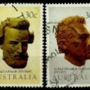 Sellos: AUSTRALIA YV 0841/44 SERIE: EXPLORADORES DE AUSTRALIA (USADO). Lote 161019329