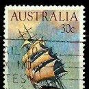 Sellos: AUSTRALIA YV 0857 VELERO: CUTTY SARK (USADO). Lote 161150113