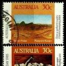 Sellos: AUSTRALIA YV 0890/91 (DIA NACIONAL) (USADO). Lote 161152660