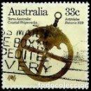 Sellos: AUSTRALIA YV 0923 (ASTROLABIO) (USADO). Lote 161157120